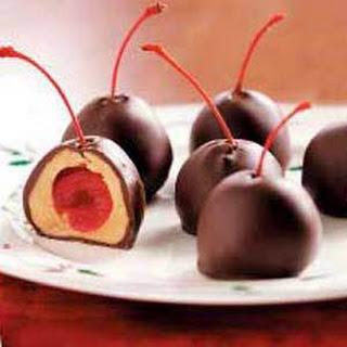 Cherry Peanut Butter Balls