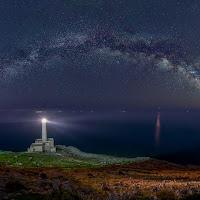 Faro di Punta Palascia sotto le stelle di