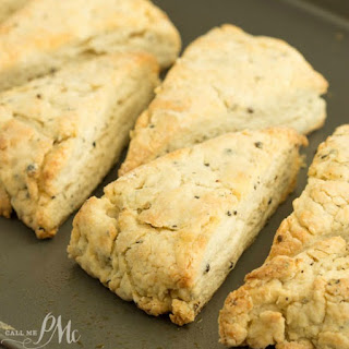 Freshly Ground Black Pepper Mascarpone Scones