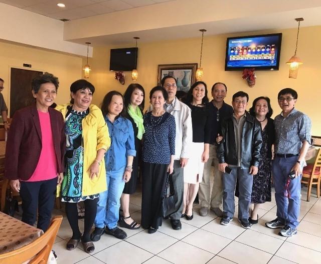 KM Houston họp mặt ở nhà hàng Nam Giao  h3