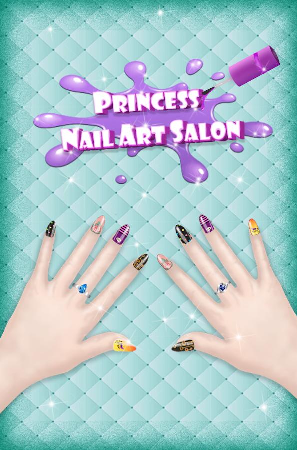 Fashion Nail Art Designs Game Screenshot