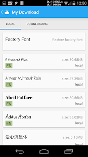 iFont(Expert of Fonts) Screenshot