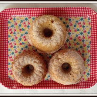 Donna Hay apple & cinnamon mini bundt cakes