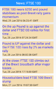 After Market Stock Quotes Inspiration Stocks  London Stock Quotes  Android Apps On Google Play