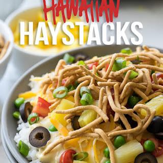 Quick and Easy Hawaiian Haystacks.