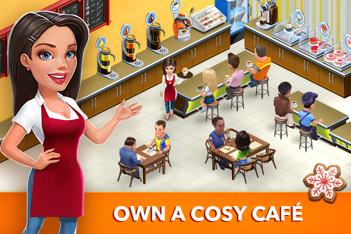 Screenshots of My Cafe: Recipes & Stories for iPhone