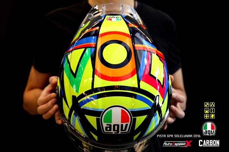 หมวกกันน็อค AGV Pista GP R Soleluna 2016