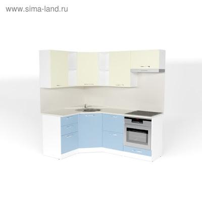 Кухонный гарнитур Алиса оптима 4 1400*2000 мм