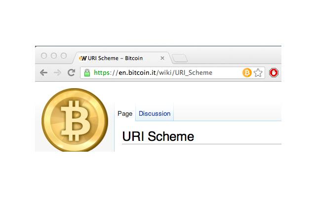 uri bitcoin