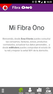 Mi Fibra Ono- screenshot thumbnail