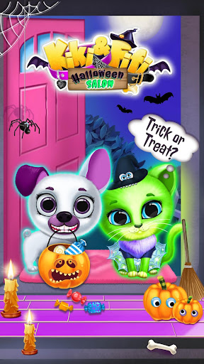 Kiki & Fifi Halloween Salon - Scary Pet Makeover 3.0.25 screenshots 5