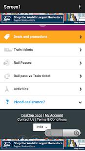 Rail Planner - náhled