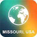 Missouri, USA Offline Map icon