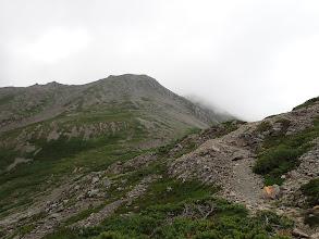 赤石岳へ向かう