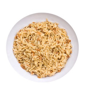 Asiago Garlic Orzo Pilaf