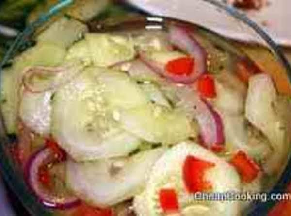 Mamahiti's Simple Cucumber Salad Recipe