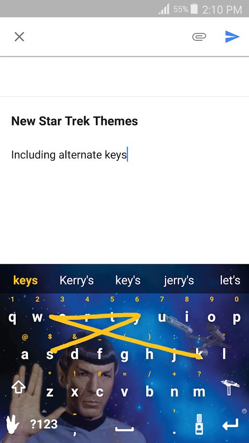 Swype Keyboard- screenshot