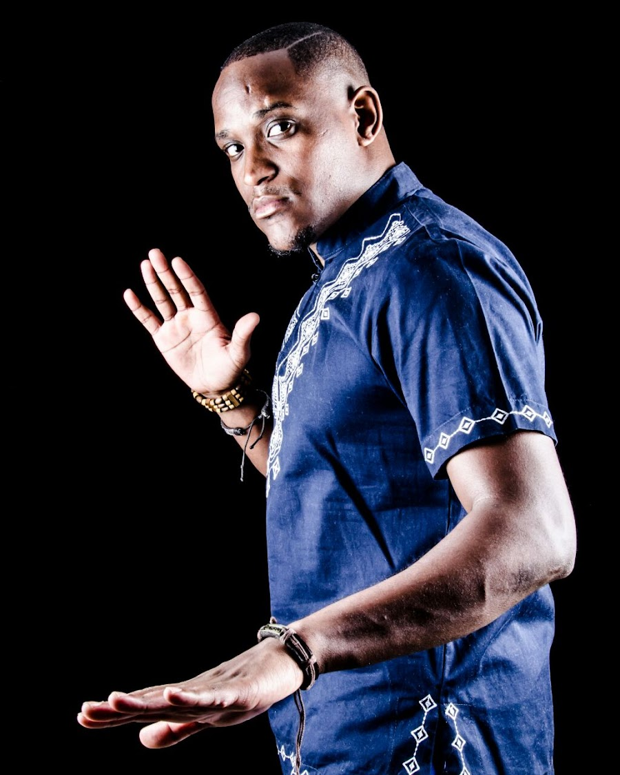 Lebogang Thubakgale, better known by his stage name 'LebzaTheVillain'.