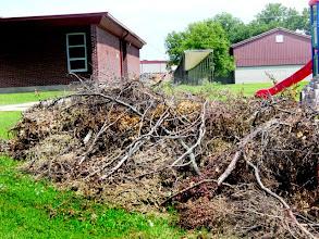 Photo: Debris