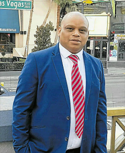RIVETING NEW CHAPTER: Being one of the panel of speakers at the Value Builder Summit in Las Vegas was an eye-opening experience for Eastern Cape businessman Max Mabhuti Picture: SUPPLIED