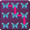 Butterfly Pattern Screen Lock icon