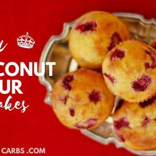 Easy Coconut Flour Cupcakes.