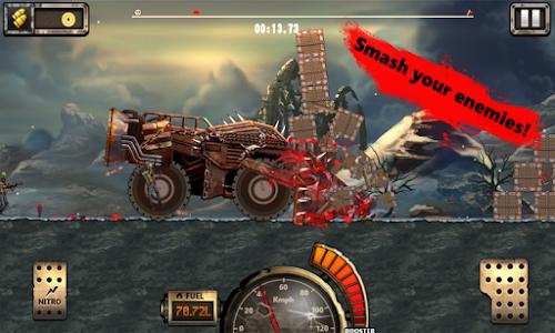 Monster Car Hill Racer 2 v1.2 Mod Money