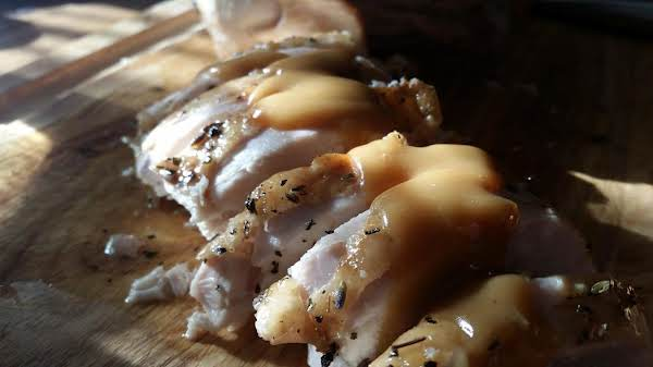 Maple-glazed Roasted Turkey Breast