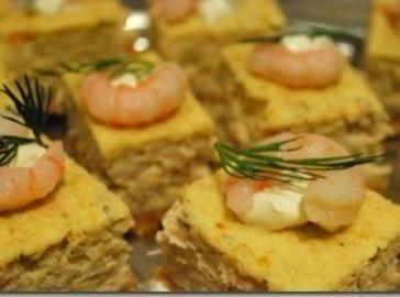 Seafood Cheesecake Squares Recipe