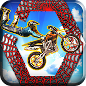 Spider Motocross Stunts