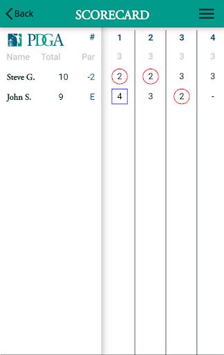 Disc Golf 2 - PDGA screenshots 2
