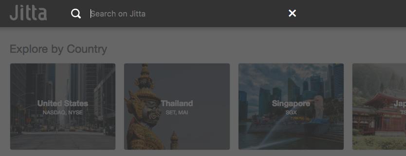 Tutorial Stock Search Jitta Library