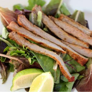 Madras and Lime Steak Salad