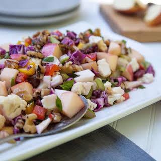 Apple, Cabbage & Cauliflower Crunch Salad.