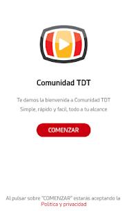 Comunidad TDT - náhled