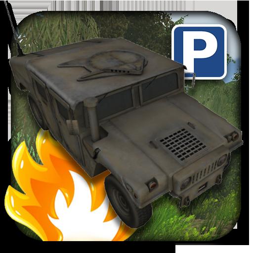 3D 군사 주차장 模擬 LOGO-玩APPs