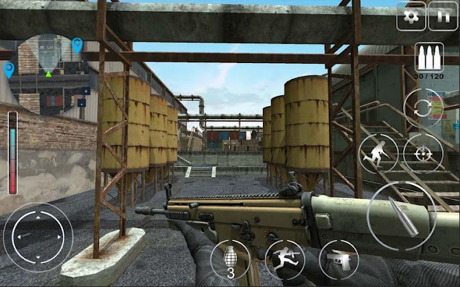 Call Of Modern Warfare : Secret Agent FPS Android 1