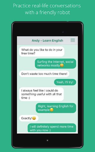 Andy - English Speaking Bot screenshot 7