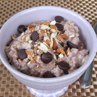 Overnight, Slow Cooker Ice Cream Oatmeal