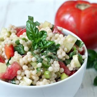 Israeli Couscous Veggie Salad
