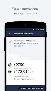 TransferWise Money Transfer - náhled