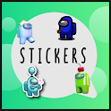 Among us skin stickers for Whatsapp Wastickerapps icon