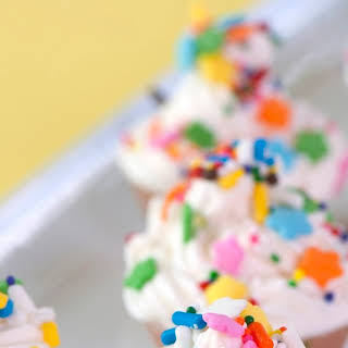 Birthday Cupcake Jelly Shots.