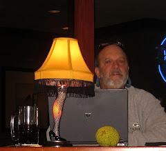 Photo: Leg Lamp and Osage Orange - Seasons Greetings