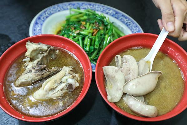 台北美食:錦洲美食~台北錦州街好吃麻油雞、四物雞。聽說鵝肉麵也好吃!