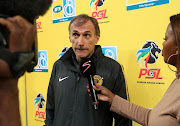 Giovanni Solinas, coach of Kaizer Chiefs during the 2018 Currie Cup2018 MTN8 Semi Final 2nd Leg match between Kaizer Chiefs and Supersport United at the FNB Stadium, Johannesburg on 01 September 2018.