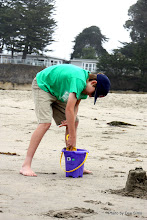 Photo: (Year 3) Day 22 -  Matthew and Bucket and Spade