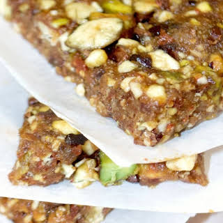 Pistachio Goji Berry Bars.