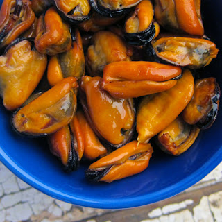 Smoked Mussels.