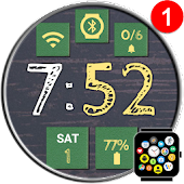 "Free ""School"" Watch Face Theme for Bubble Clouds"